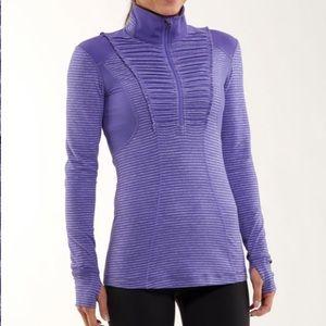 Lululemon Run Half Zip Pullover Jacket